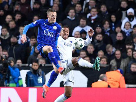 Khong thang, Leicester van tao ky luc an tuong - Anh 1