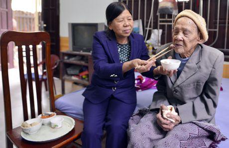 Cu ong 104 tuoi o Bac Ninh co ban chan ky la - Anh 10