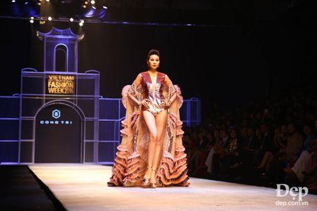 Cam hung noi loan tran ngap san dien Vietnam International Fashion Week 2016 ngay dau tien - Anh 2