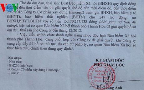 Cong ty chiem dung 17 ty dong, BHXH van chot so cho lanh dao - Anh 1