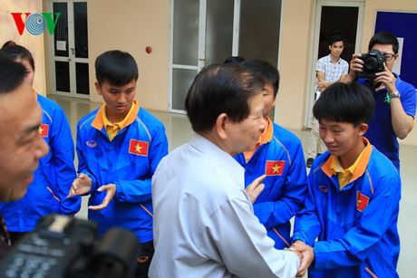 DT Viet Nam hua thi dau het minh truoc nguyen Chu tich nuoc - Anh 2