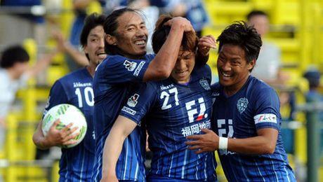 Doi thu giao huu voi DT Viet Nam phai xuong thi dau o J-League 2 - Anh 1