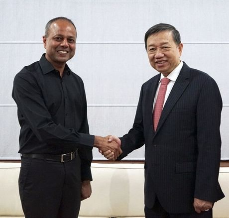 Bo truong Bo Cong an tham, lam viec tai UAE va Sri Lanka - Anh 3
