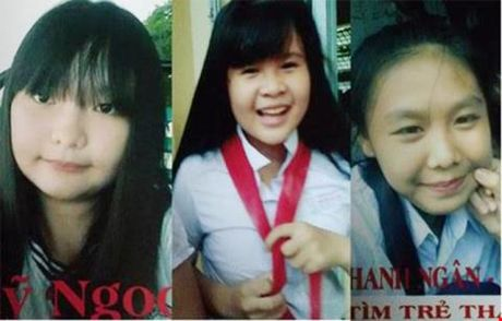3 nu sinh Dong Nai mat tich: Manh moi tin nhan la - Anh 1