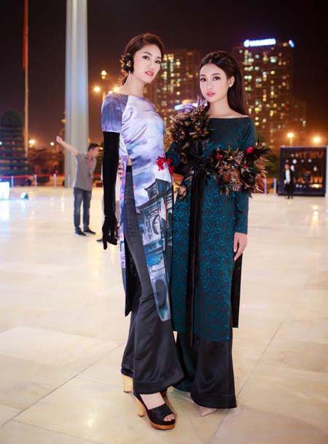 Hoa hau My Linh, A hau Thanh Tu: Tam-Cam tren tham do thoi trang - Anh 2