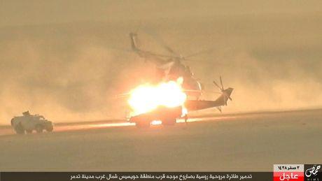 Khoanh khac thot tim truc thang Mi-35M Nga bi ban o Syria - Anh 3