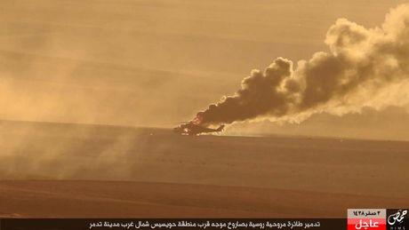 Khoanh khac thot tim truc thang Mi-35M Nga bi ban o Syria - Anh 6
