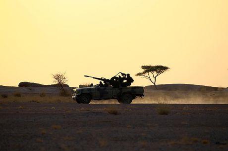 Chum anh tranh chap lanh tho o Tay Sahara - Anh 6