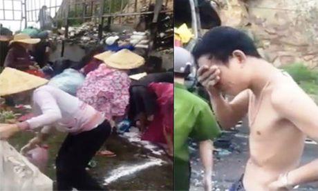 Khong xu phat nguoi tham gia 'hoi cua' vu chay xe cho hang - Anh 1