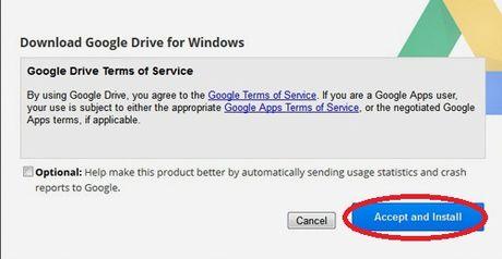 Hoc cach su dung Google Drive tren PC khong can len drive.google.com - Anh 3