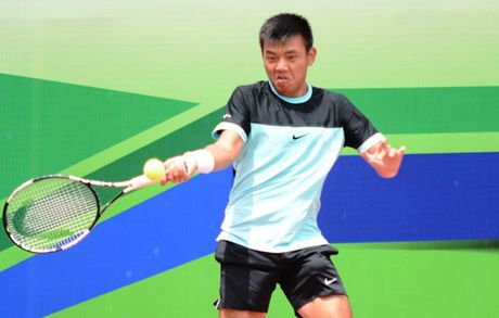Ly Hoang Nam rong duong vo dich o giai Vietnam F9 Futures - Anh 1