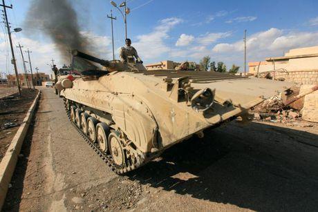 Thu linh IS tuyen bo 'khong rut lui' khoi Mosul - Anh 1