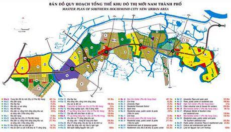 Ben xe Mien Tay moi duoc xay dung o khu E do thi Nam Sai Gon - Anh 1