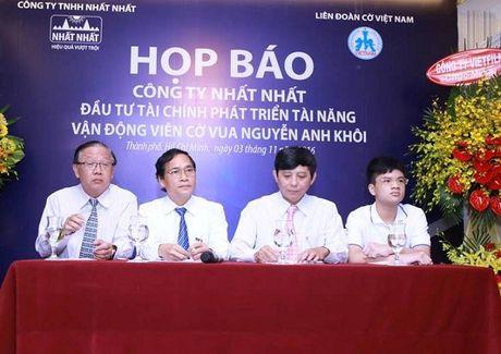Nguyen Anh Khoa - Ky thu co vua nho tuoi nhat Viet Nam - Anh 2
