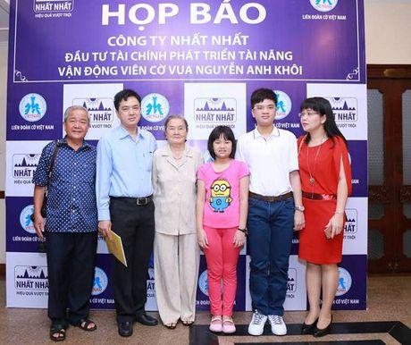 Nguyen Anh Khoa - Ky thu co vua nho tuoi nhat Viet Nam - Anh 4