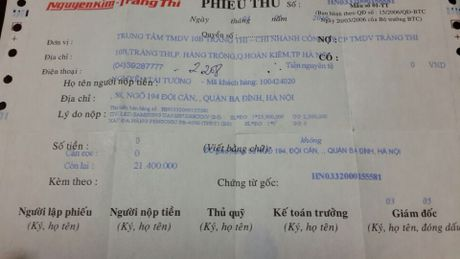 Tranh cai ve chiec tivi bi loi man hinh khach mua o sieu thi Nguyen Kim - Anh 2
