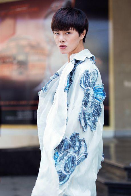 Hoang Thuy - An Japan sang chanh tren pho voi do xuyen thau - Anh 6