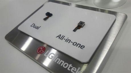 LG tich hop cam bien mong mat, loai bo thiet ke module tren G6 - Anh 1