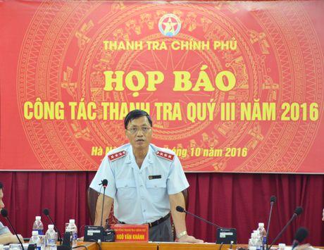 Thong tin moi nhat ve viec bo nhiem 35 can bo thoi ong Tranh o TTCP - Anh 1