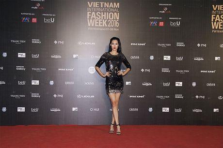 Hoa hau Do My Linh do sac Hoa hau Diem Huong tren tham do - Anh 7