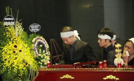 Dong dao nghe sy roi nuoc mat tien dua 'Sep Bang' - Anh 6