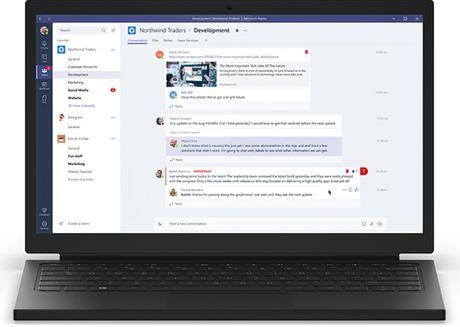 Microsoft cong bo dich vu chat nhom moi - Anh 1