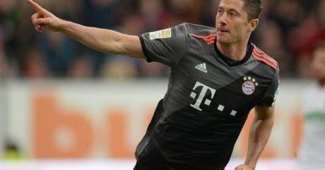 Lewandowski dot pha dung manh top 5 V9 Bundesliga - Anh 1