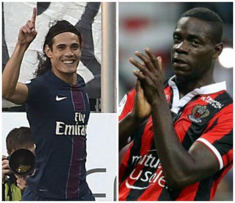 Cavani do Balotelli top 5 ban dep nhat vong 11 Ligue 1 - Anh 1