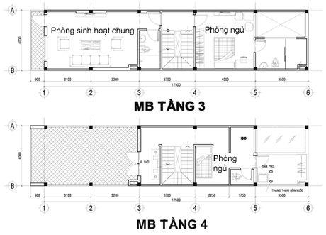 Goi y thiet ke va chi phi cho nha 4 tang voi 1,2 ty dong - Anh 3