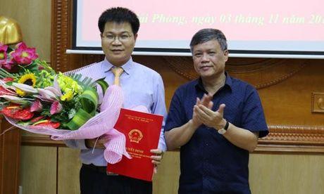 Hai Phong: Bo nhiem Pho Giam doc Ban quan ly cong trinh xay dung phat trien do thi - Anh 1
