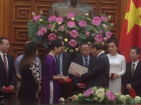 Thu tuong Chinh phu gap go Hiep hoi doanh nghiep nho va vua Viet Nam - Anh 3