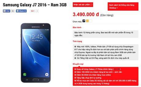 Galaxy J7 2016 xach tay full-HD, RAM 3GB, gia 3.5 trieu - Anh 3