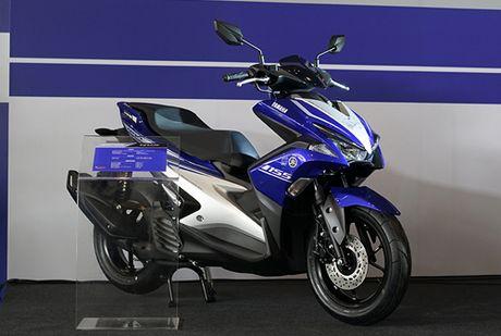 Yamaha NVX 155 ban ra 3 phien ban, 6 mau tai Indonesia - Anh 1
