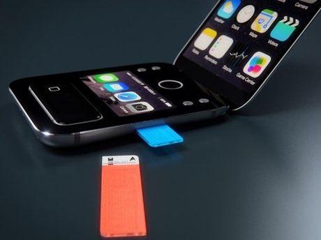 Apple bi mat thu nghiem mau iPhone nap gap? - Anh 2