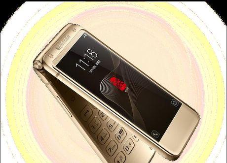 Samsung ra mat dien thoai nap gap 2 man gia dat gap 3 lan iPhone 7 - Anh 1