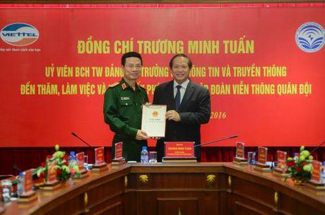 Viettel chinh thuc duoc trao giay phep cung cap 4G - Anh 1