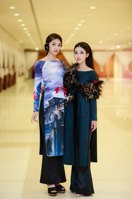 Hoa hau My Linh, A hau Thanh Tu hoa than chi em 'Tam cam' day mi luc - Anh 5