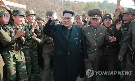 Kim Jong-un tham tieu doan dac nhiem Trieu Tien - Anh 1