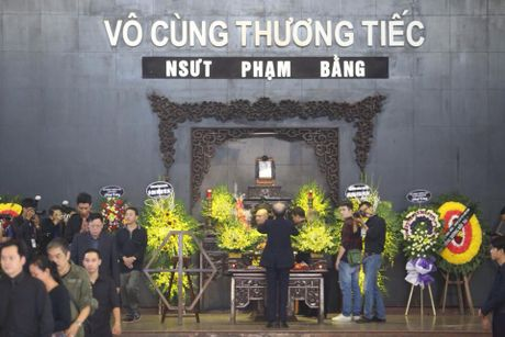Nghe si nghen ngao roi nuoc mat tien biet NSUT Pham Bang - Anh 1