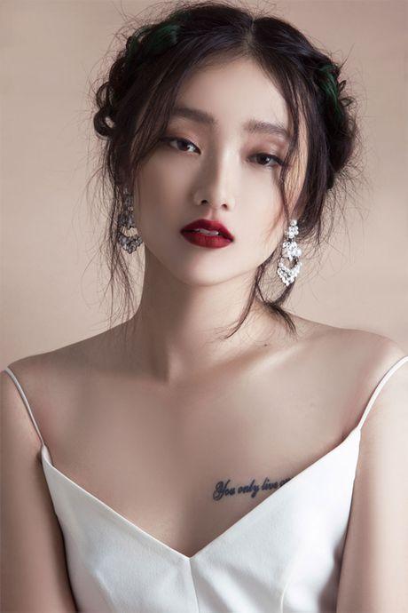 Quan quan Vietnam's Next Top Model Trang Khieu khoe em gai xinh nhu Chau Tan - Anh 3