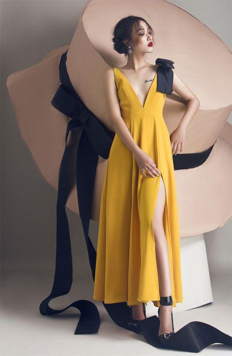 Quan quan Vietnam's Next Top Model Trang Khieu khoe em gai xinh nhu Chau Tan - Anh 4