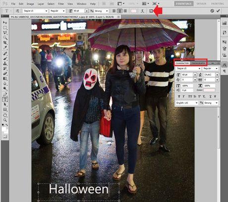 Huong dan viet chu len anh bang Photoshop - Anh 3