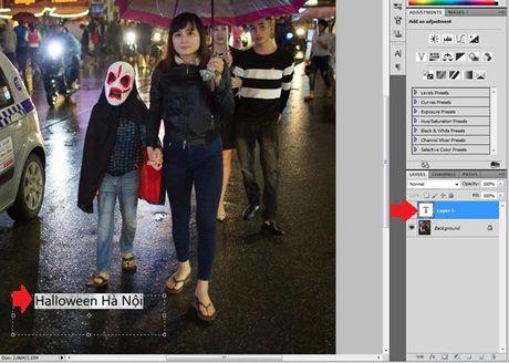 Huong dan viet chu len anh bang Photoshop - Anh 4