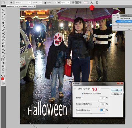 Huong dan viet chu len anh bang Photoshop - Anh 5