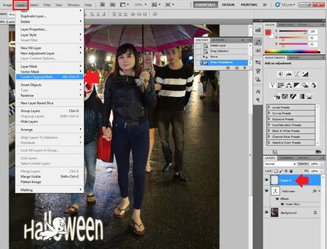 Huong dan viet chu len anh bang Photoshop - Anh 7