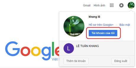 Cach xoa vinh vien tai khoan Google cua ban - Anh 2
