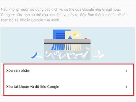 Cach xoa vinh vien tai khoan Google cua ban - Anh 4