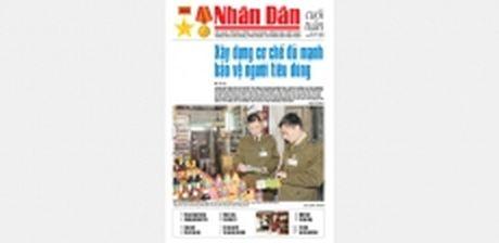 Don doc Nhan Dan Cuoi tuan so 45 (Phat hanh tu ngay 4-11) - Anh 1