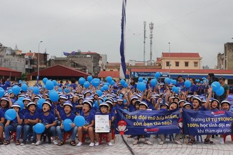 Hai Duong: Phat dong cuoc thi 'Giao thong hoc duong' nam hoc 2016-2017 - Anh 1