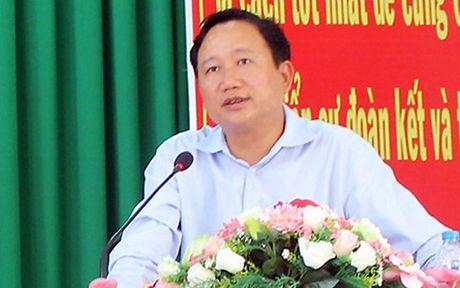 Thu truong Bo Cong an: Trinh Xuan Thanh nen ra dau thu - Anh 2